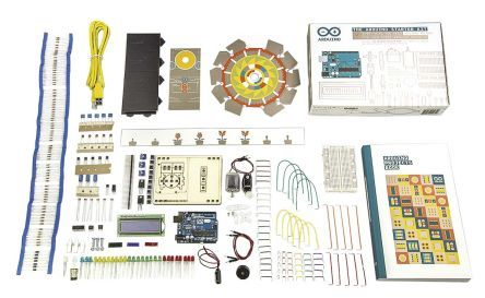 Arduino Starter Kit with UNO board