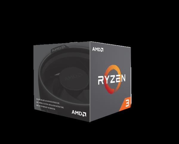 AMD Ryzen 3 1300X - 4C/4T, 3,7GHz, 10MB cache, 65W