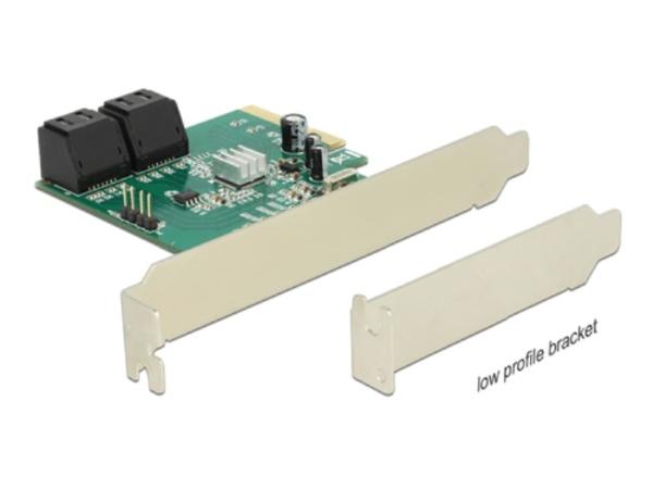 Delock PCIe SATA x4 RAID