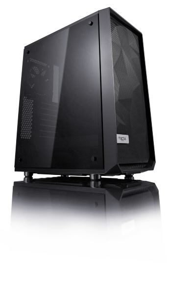 Fractal Design Meshify C / Dark Tempered Glass - Svart