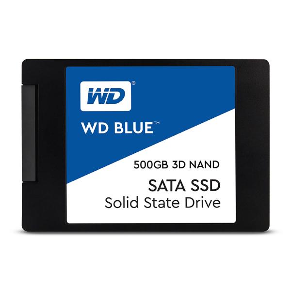 WD Blue 3D NAND SSD 500GB (WDS500G2B0A)