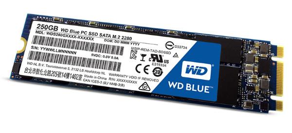 WD Blue 3D NAND SSD M.2 250GB (WDS250G2B0B)
