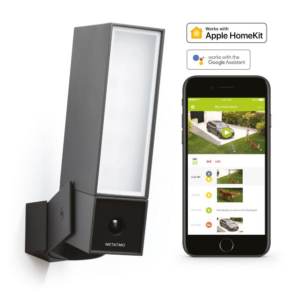 Netatmo Presence - Säkerhetskamera för utomhusbruk / Homekit