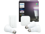 Philips Hue Color - Startkit / E27 / 10W / 3-pack + Switch