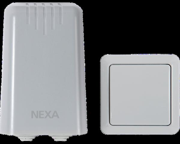 Nexa - Utomhusmottagare + Fjärrkontroll IP44