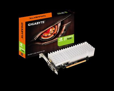 Gigabyte GeForce GT 1030 2GB Silent Grafikkort, PCI-Express 3.0, GDDR5 , 1506 MHz /1252MHz, Pascal,