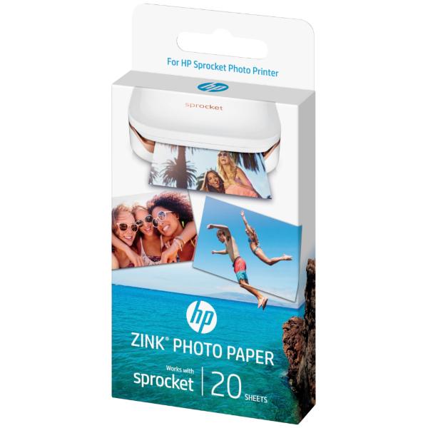 HP ZINK Fotopapper till Sprocket (20 ark)