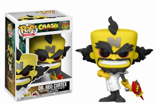 Pop! Games: Crash Bandicoot – Neo Cortex