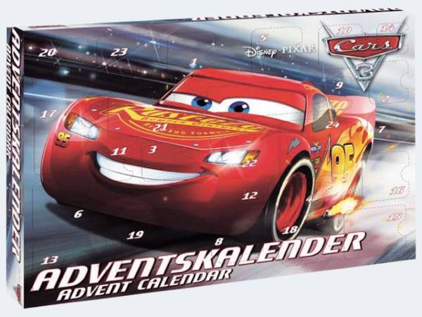 Cars 3 Julkalender