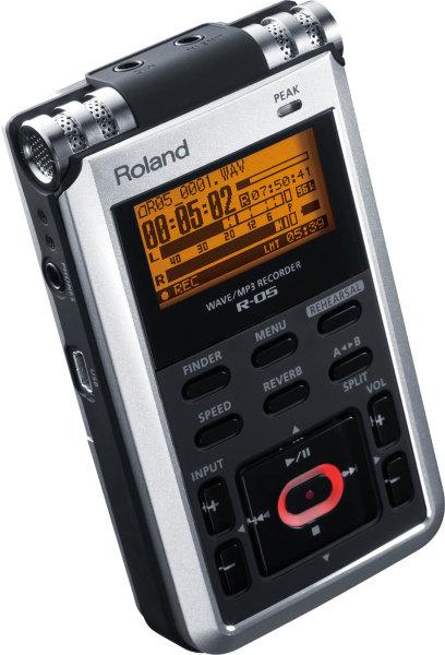 Roland R-05 Wave/MP3-inspelare