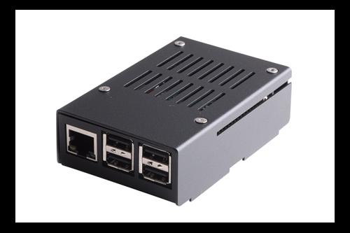 KKSB - Raspberry Pi 3 chassi, metall, Svart