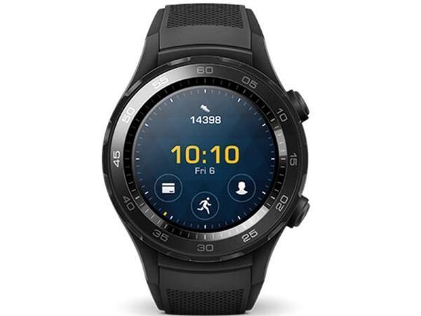 Huawei Watch 2 / Svart (Fyndvara – Klass 1)