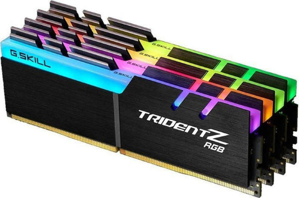 G.Skill Trident Z RGB Series (4x16GB) / 3200MHz / DDR4 / CL14 / F4-3200C14Q-64GTZR