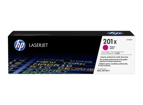 HP 201X Magenta / CF403X