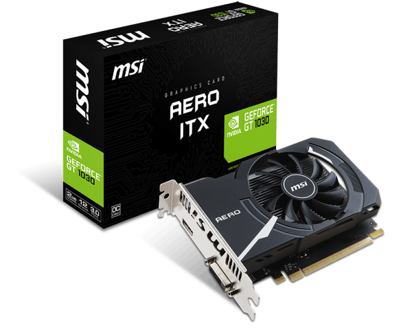 MSI GeForce GT 1030 2GB Aero ITX OC