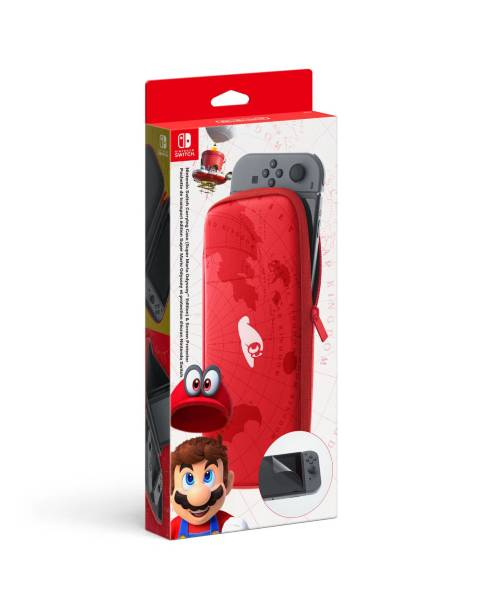 Nintendo Switch Carry Case Super Mario Odyssey Edition