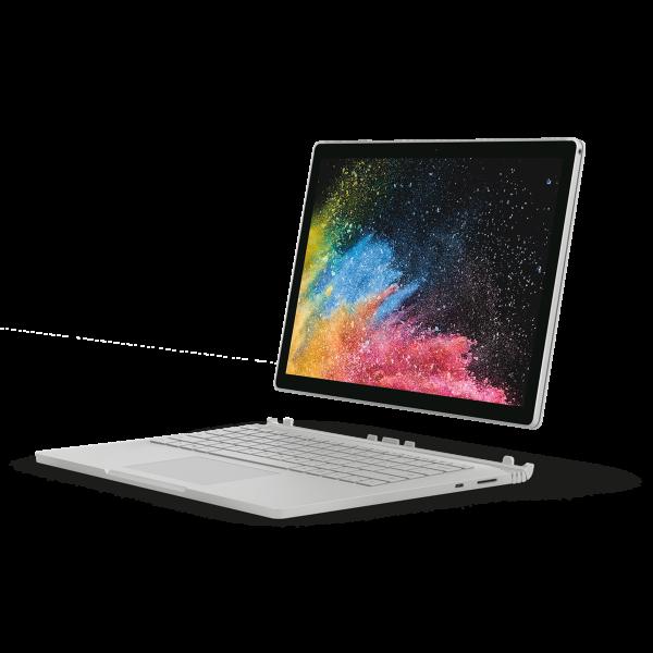 """Microsoft Surface Book 2 / 13.5"""""""" / i7-8650U / 16GB / 1TB SSD / GTX 1050 / Win 10 Pro"""