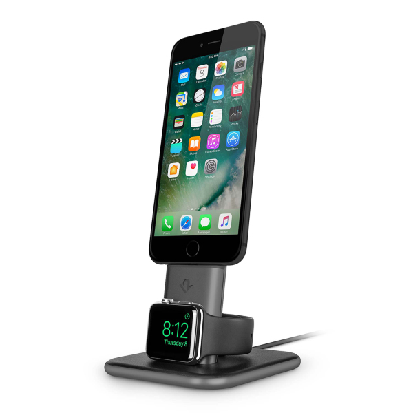 Apple Watch / iPhone / Twelve South HiRise Duet Combined Charging Stand