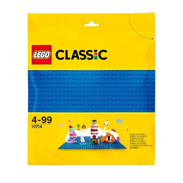LEGO Classic Blå basplatta 10714