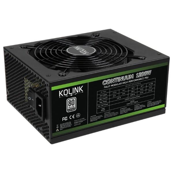 Kolink Continuum / 1200W / 80+ Platinum - Modular