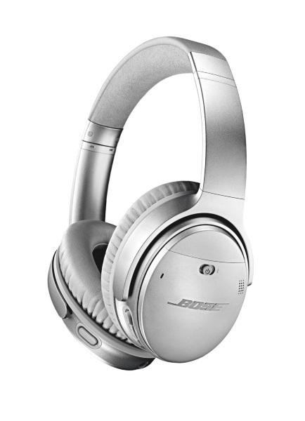 Bose® QuietComfort® 35 II trådlösa hörlurar / Silver (Fyndvara - Klass 1)