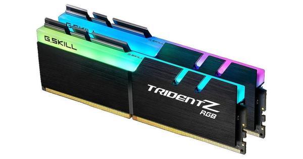 G.Skill Trident Z RGB Series 16GB (2x8GB) / 4000MHz / DDR4 / CL17