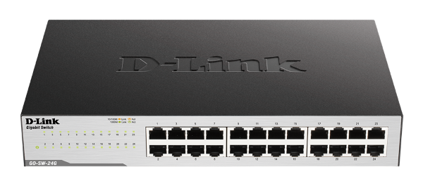 D-Link GO 24-portar Switch 10/100/1000Mbps