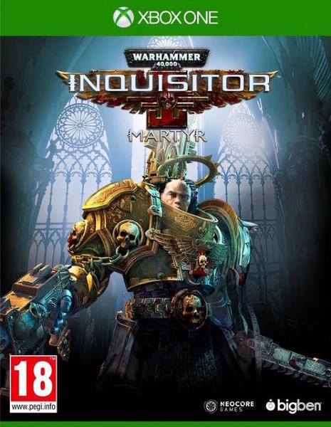 Warhammer 40K (40.000): Inquisitor - Martyr