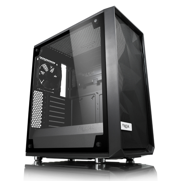 Fractal Design Meshify C / Tempered Glass / Svart