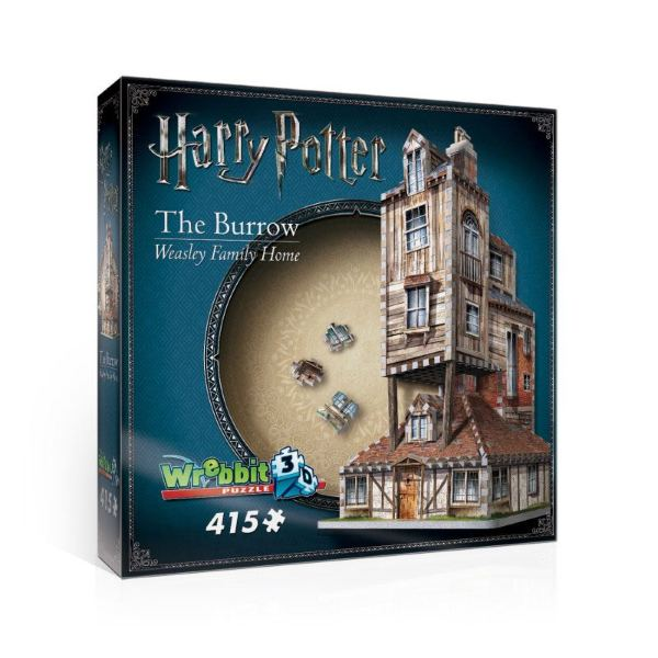 Wrebbit Harry Potter Puzzle The Burrow (Weasley Family Home) 3D Pussel