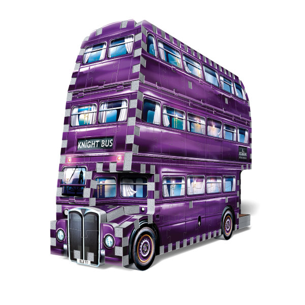 Wrebbit 3D Pussel Harry Potter The Knight Bus