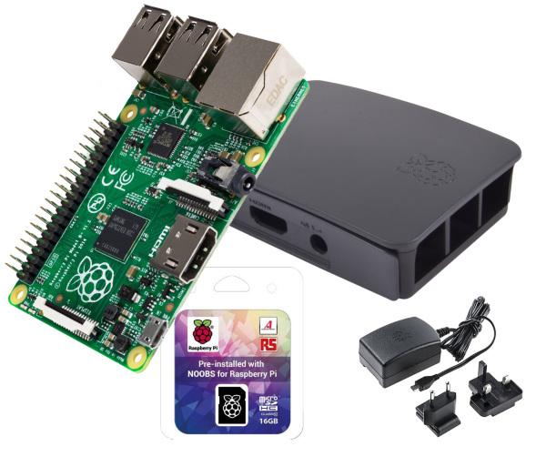 Webhallon Config v2 - Noobspaket med låda och nätadapter