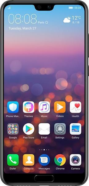 Huawei P20 Pro / Dual-Sim / 128GB – Svart