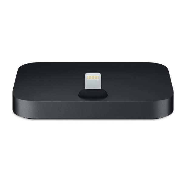 Apple iPhone Lightning Dock Metallic – Svart