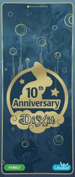 Dixit Expansion 9: Anniversary: Tales Around the World (Nordic+Eng)
