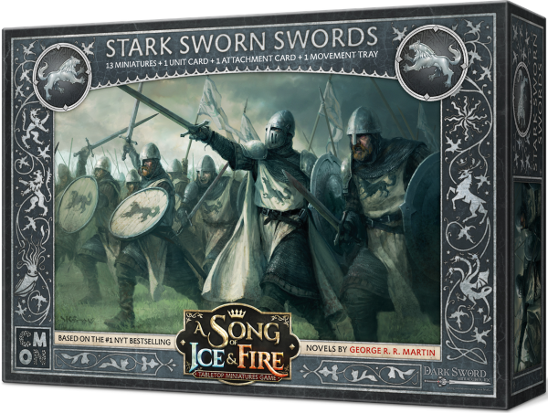 A Song of Ice & Fire: Tabletop Miniatures Game – Stark Sworn Swords