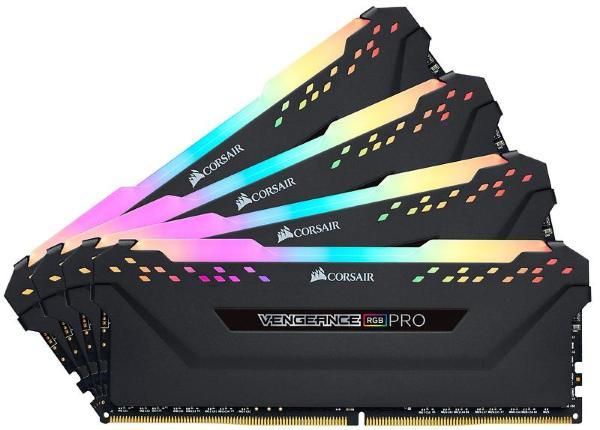 Corsair Vengeance RGB PRO 32GB (4x8GB) / 3200MHz / DDR4 / CL16 / CMW32GX4M4C3200C16