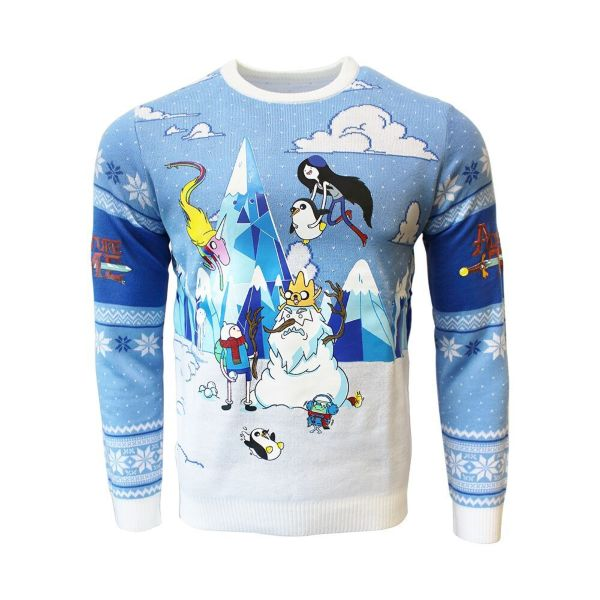 Jultröja - Adventure Time: Mountain Characters (XL)