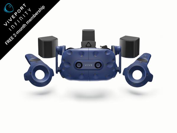 HTC Vive Pro VR Headset Full kit