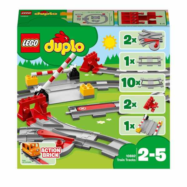 LEGO DUPLO Town Train Tracks 10882