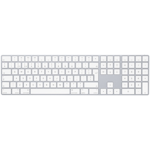 Apple Magic Keyboard med Numerisk Keypad - Silver (Fyndvara - Klass 1)