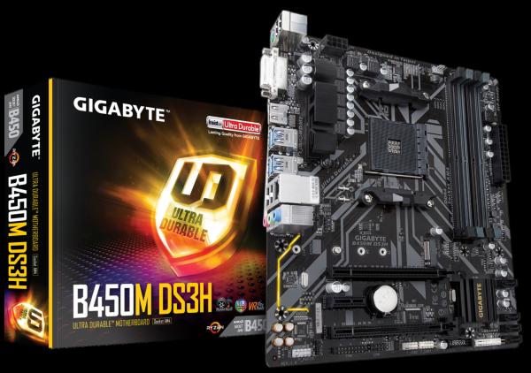 Gigabyte B450M DS3H – mATX / B450