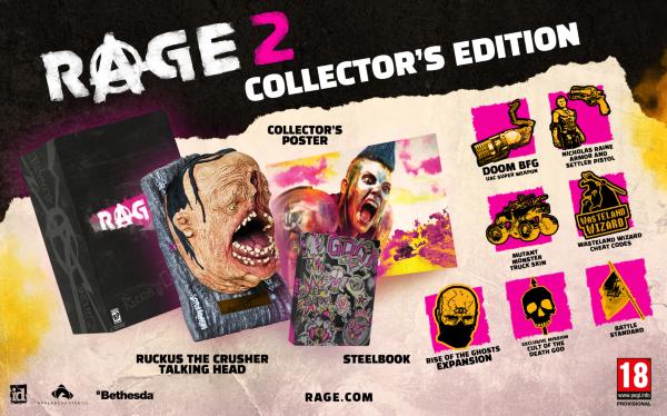 Rage 2 Collectors Edition PC