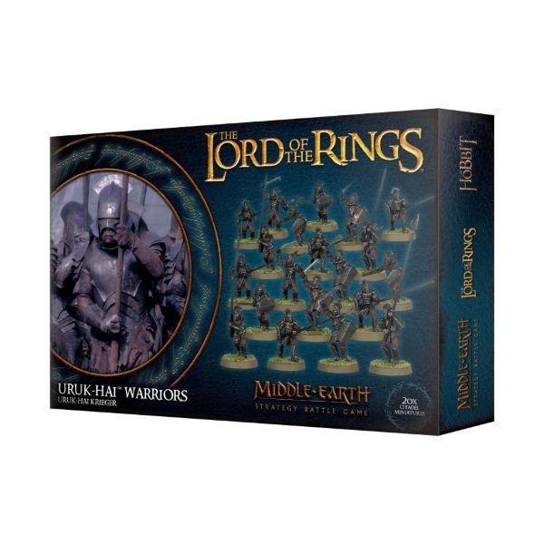 The Lord of The Rings Uruk-Hai Warriors
