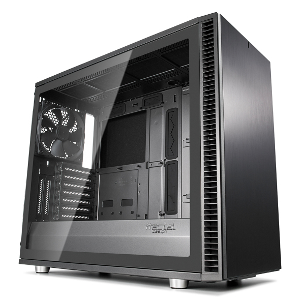 Fractal Design Define S2 / Tempered glass - Gunmetal