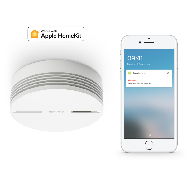 Netatmo Smart Smoke Alarm - HomeKit