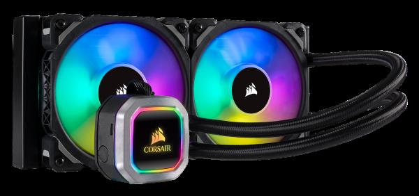 Corsair H100i RGB Platinum / iCUE-RGB / 240mm