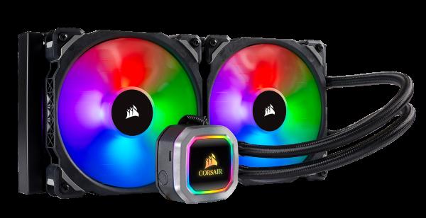 Corsair H115i RGB Platinum / iCUE-RGB / 280mm
