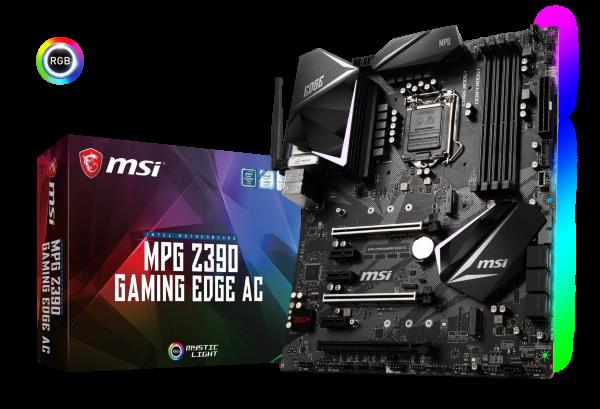 MSI MPG Z390 GAMING EDGE AC – ATX / Z390