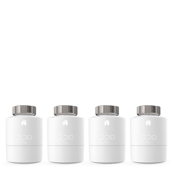 Tado Smart Radiator Thermostat - Quattro Pack